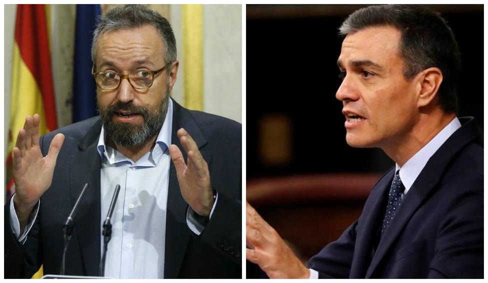 """El 'dardo' de Girauta al PSOE tras la carta de Sánchez a la militancia: """"Por si hubiera que hacer un referéndu"""