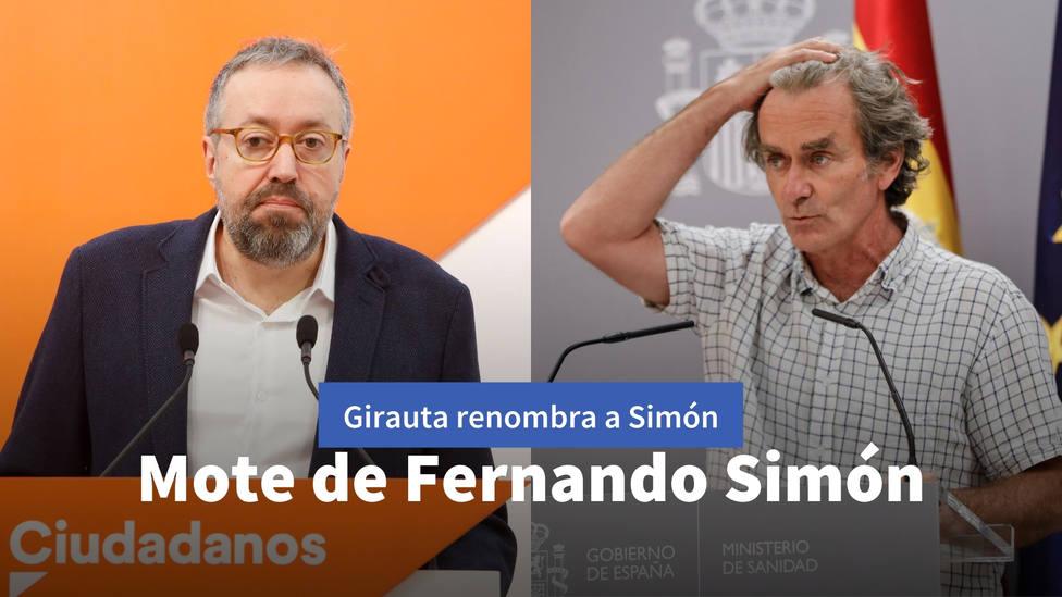 El mote con el que Girauta bautiza a Fernando Simón tras su último pronóstico