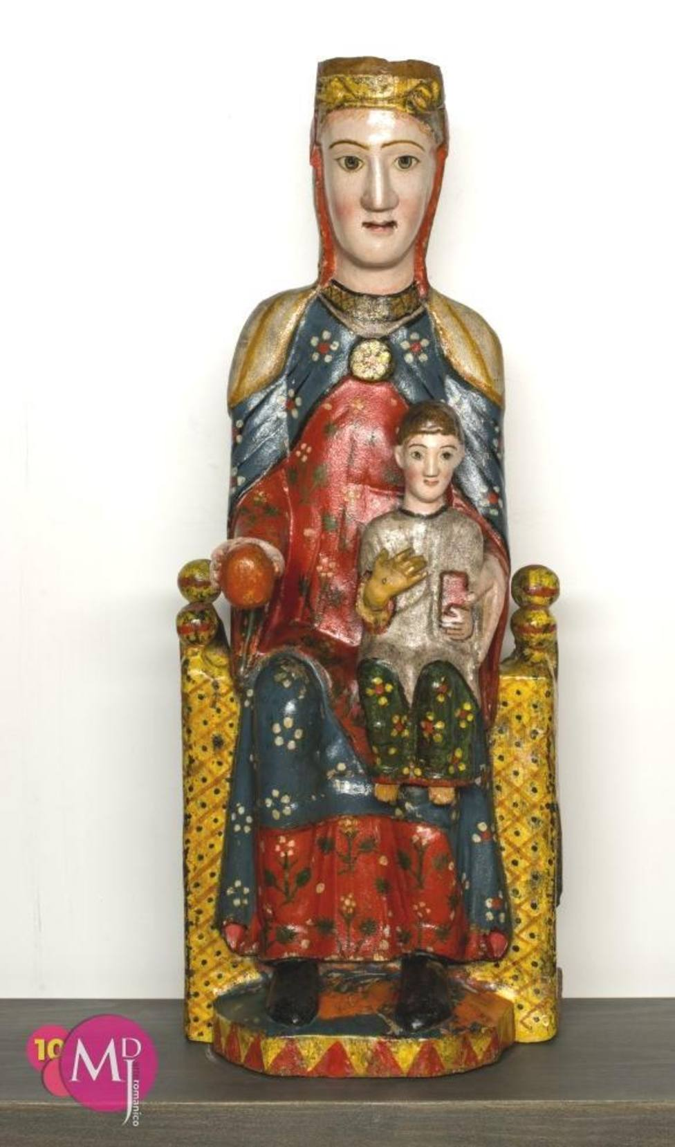 Talla Virgen de Iguácel MDJ