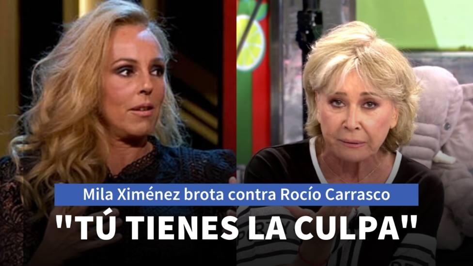 Rocío Carrasco y Mila Ximénez (Telecinco)