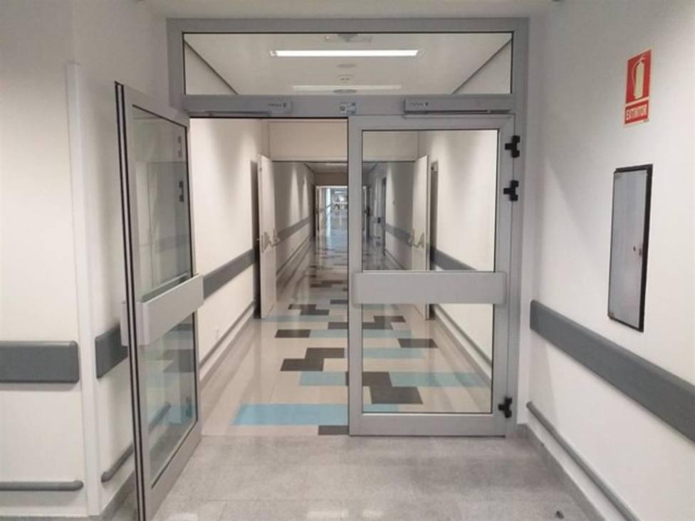 Interior del Hospital Universitario Central de Asturias