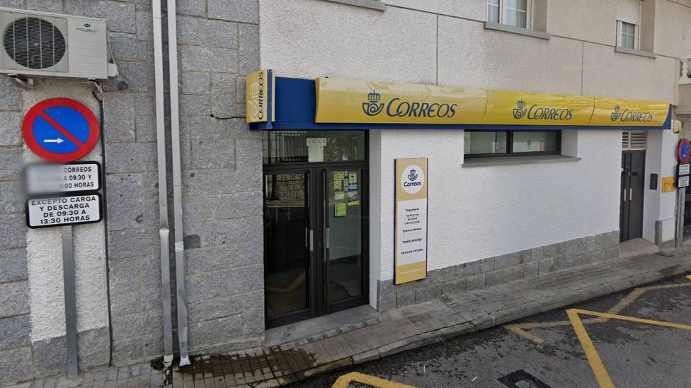 Oficina de Correos de Hoyo/ Google Maps