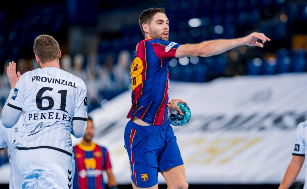 Kevi Möller y una gran defensa permiten al Barcelona aniquilar al Kiel