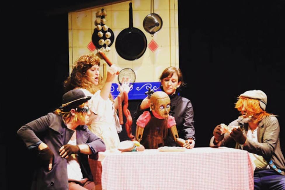 """Escena de la obra """"Pinochio"""" de la compañía Ghazafelhos - FOTO: Cedida"""