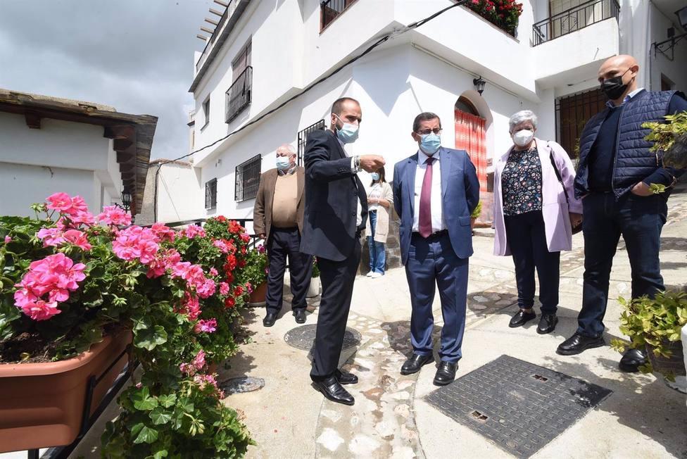 Granada.- Soportújar tendrá una nueva vía de acceso a su casco urbano tras la intervención de la Diputación