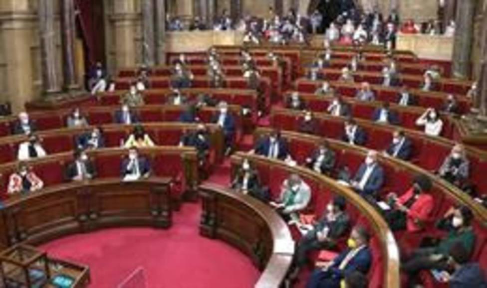 El pleno del Parlament de Catalunya del 29 de abril