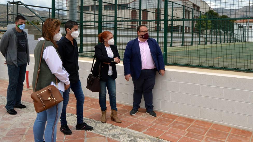 Nuevo vallado perimetral para el complejo polideportivo Julio Martín Pérez de Salobreña