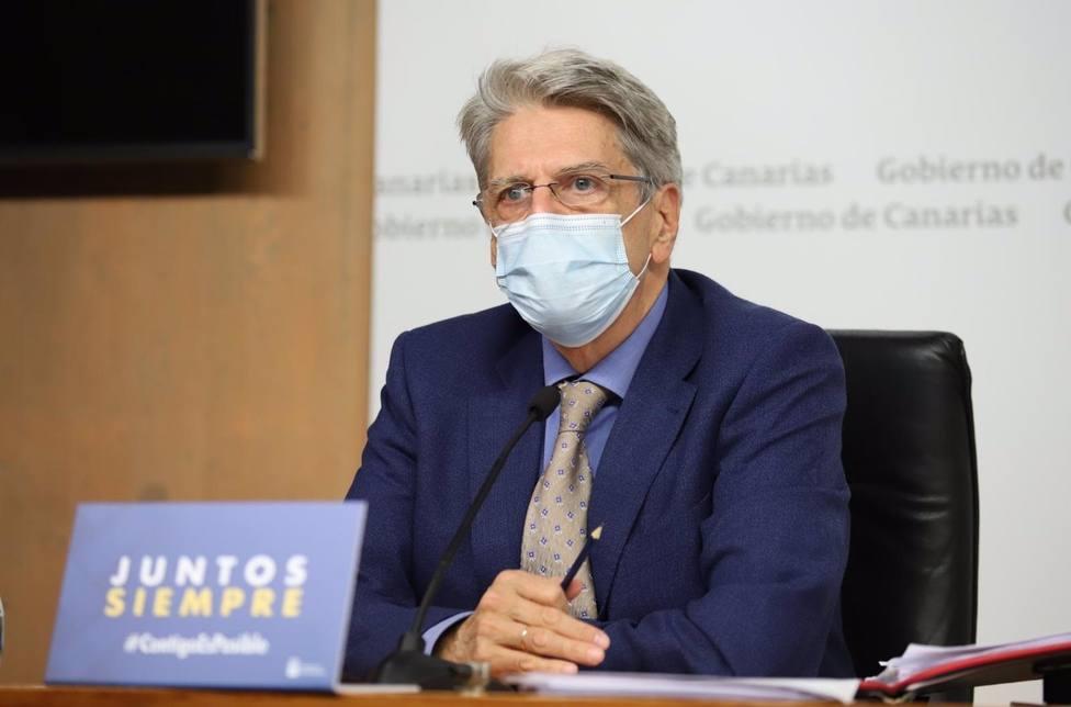 Julio Pérez, portavoz del Consejo de Gobierno
