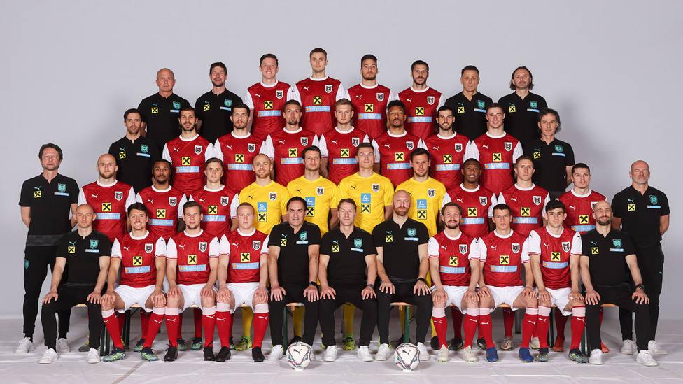 Convocatoria Austria Eurocopa 2020