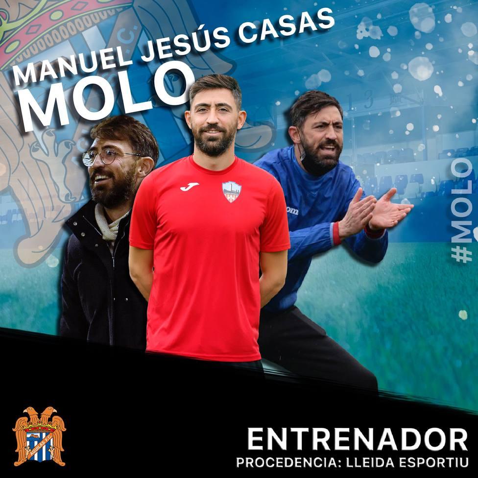 Molo, nuevo entrenador del Águilas FC