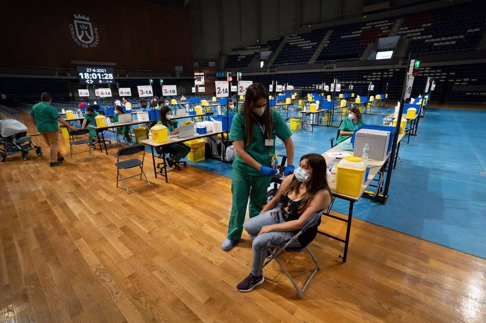 vacunación Santiago Martín