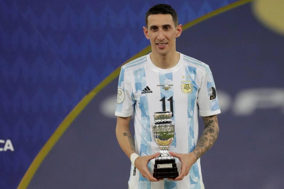 Ángel Di María, elegido MVP de la final