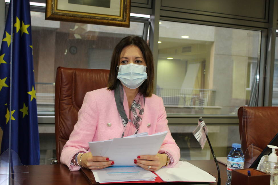 María del Carmen Moreno, alcaldesa Águilas