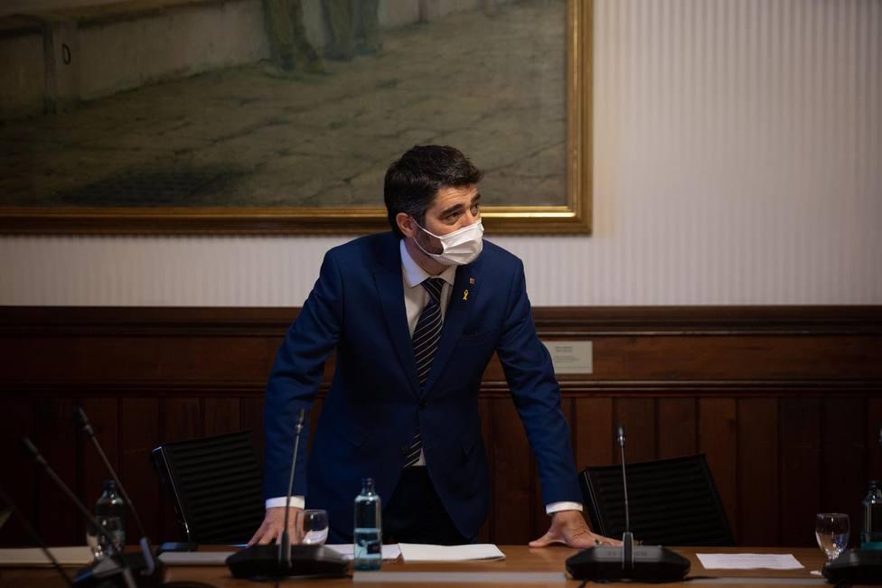 El vicepresidente de la Generalitat Jordi Puigneró