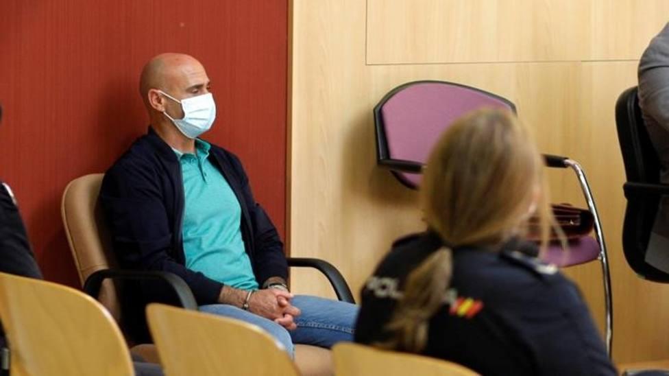 Javier Ledo durante el juicio en la Audiencia Provincial