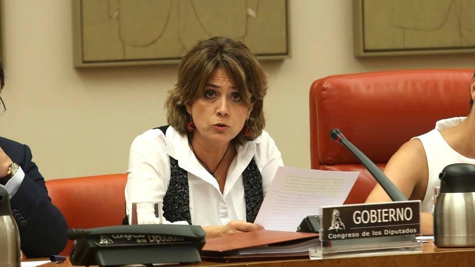 Delgado explica en el Congreso su actuación ante la demanda contra Llarena
