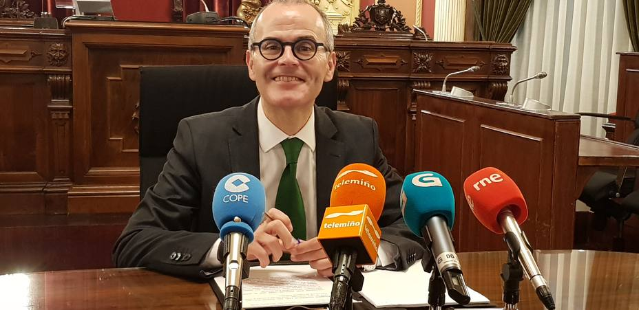 Jesús Vázquez, alcalde de Ourense