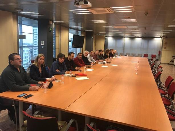 Sindicalistas de Mossos se encierran en la Conselleria por sus condiciones laborales