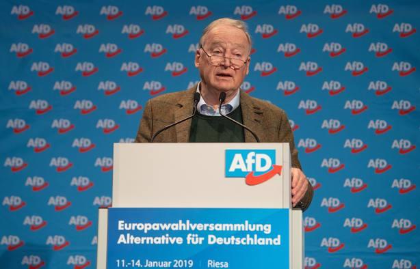 La ultraderechista AfD propone que Alemania salga de la UE
