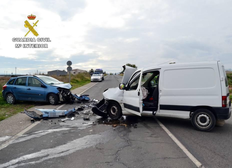 Nueve personas mueren en las carreteras españolas durante el fin de semana