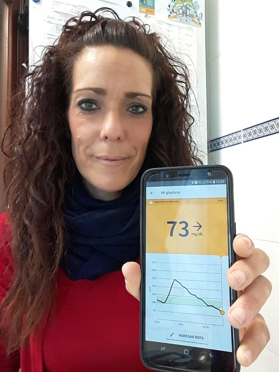 Sistema flash de medición de glucosa para diabéticos