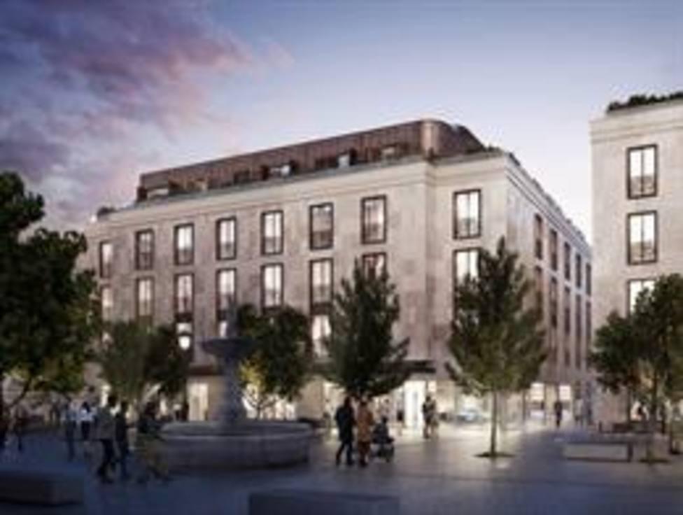 Así quedará el nuevo Hotel cinco estrellas de la plaza de la Magdalena