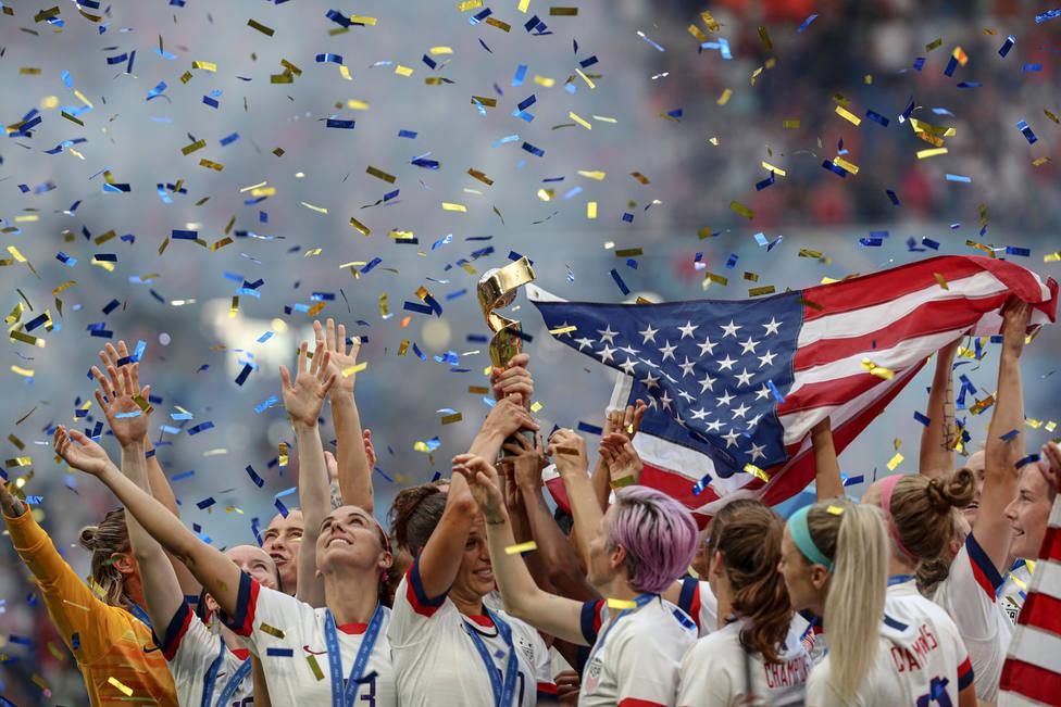 Estados Unidos, campeona del Mundo por cuarta vez (EFE)