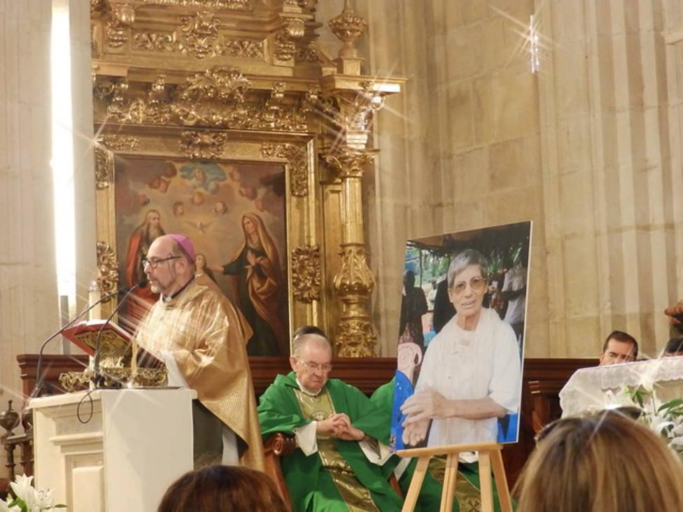 El emotivo homenaje en Burgos a sor Inés, la misionera asesinada en Centroáfrica
