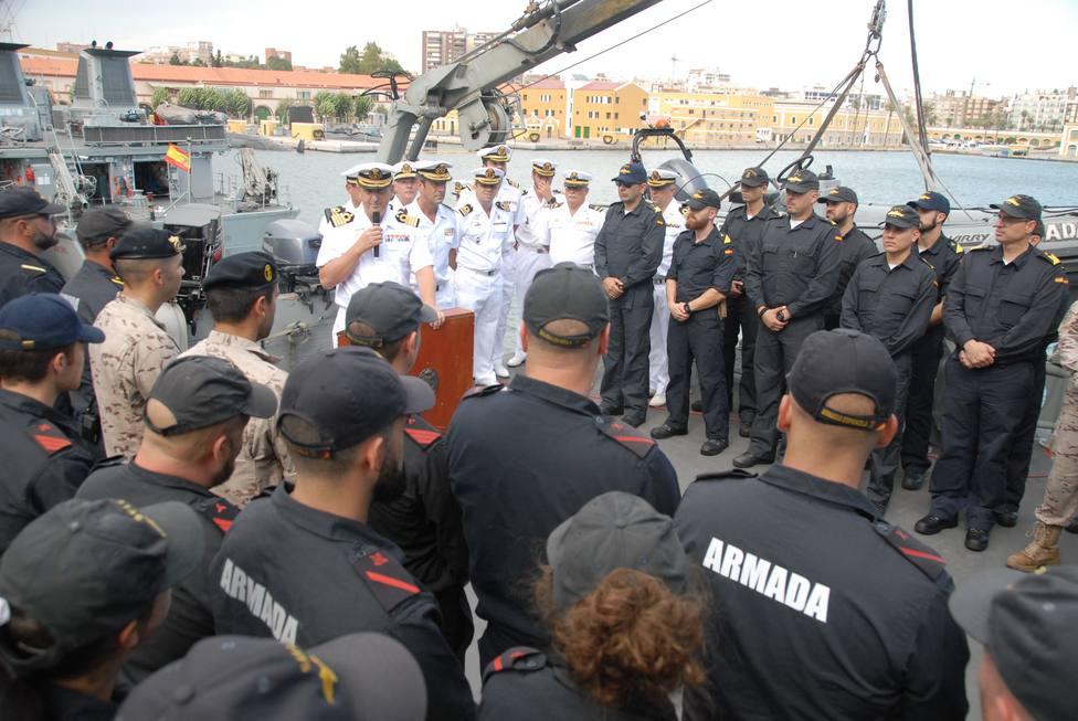 El buque Sella se integra 3 meses en agrupación permanente de cazaminas de la OTAN