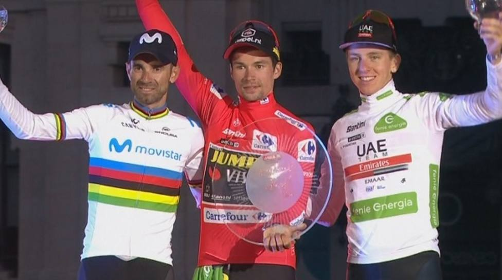 Séptimo podio en La Vuelta para Alejandro Valverde