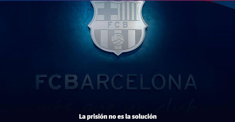 Comunicado del Barcelona