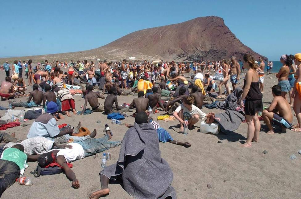 La llegada de inmigrantes a Canarias ha aumentado un 21% en lo que llevamos de año - Gran Canaria - COPE
