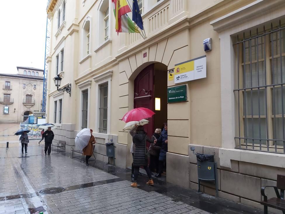 10N.- La participación en la jornada electoral en La Rioja se sitúa en el 40,14 por ciento a las 14:00 horas