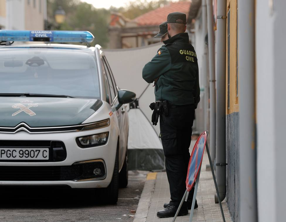 La Guardia Civil durante la búsqueda de la joven Marta Calvo