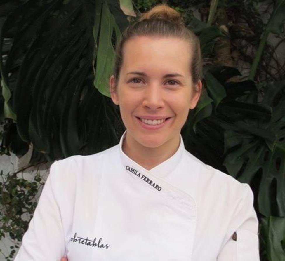 La cocinera sevillana Camila Ferraro