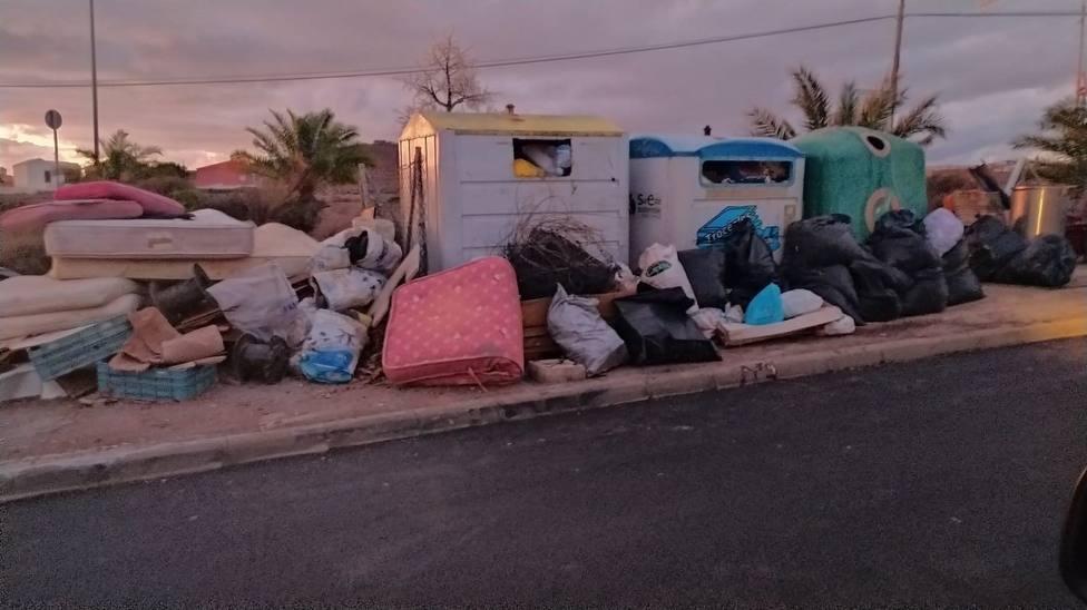 Vertidos de basura en Agüimes