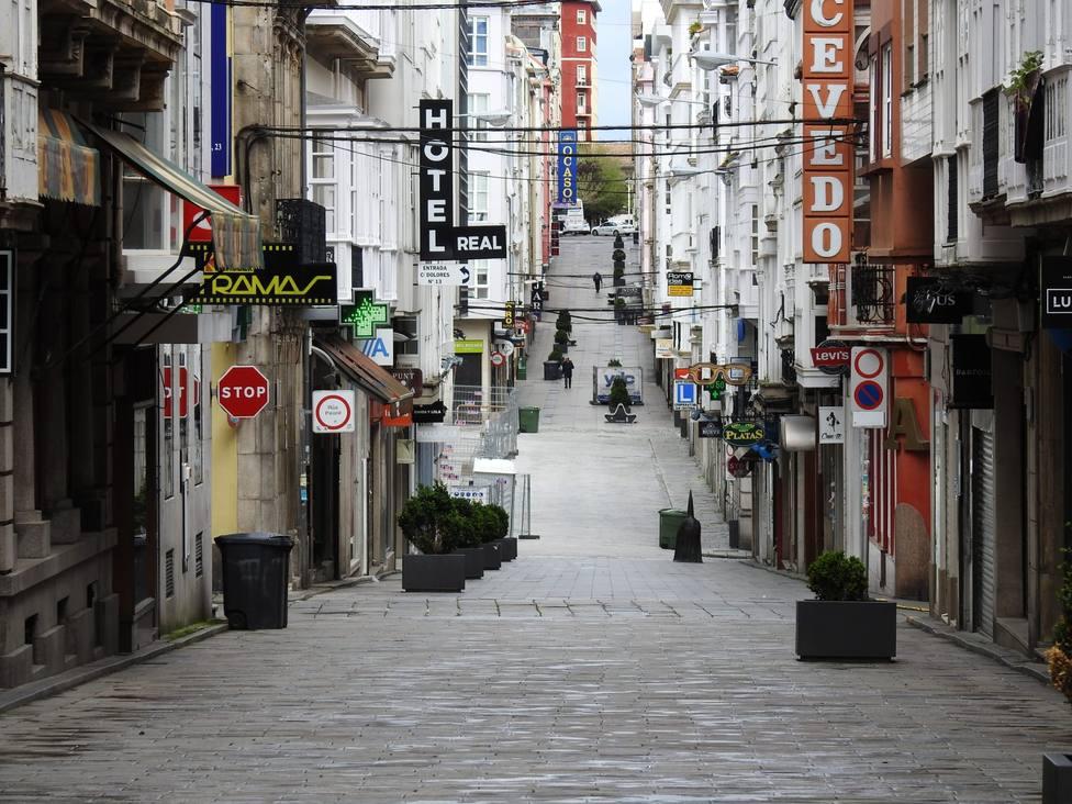Foto de archivo de la calle Real de Ferrol - FOTO: Concello de Ferrol