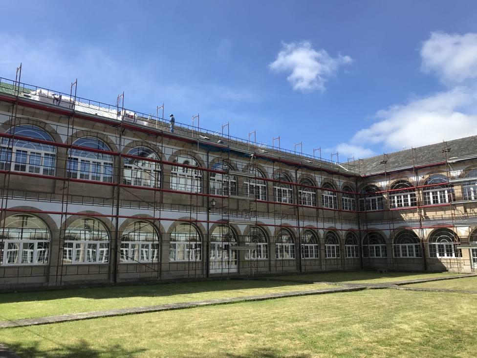 La Diputación reinicia las obras para renovar por completo la cubierta de San Marcos