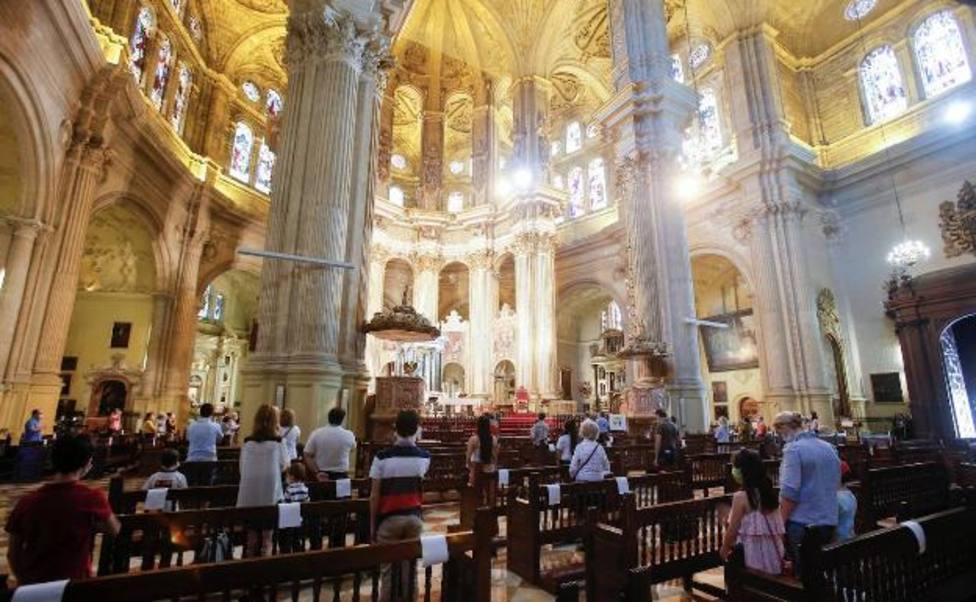 El aforo a las iglesias se mantiene en el 75% para celebraciones religiosas excepto en Cataluña