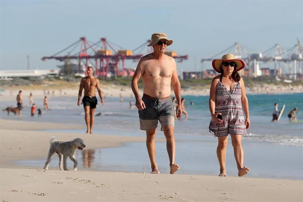 Un extraño pez aparece en una playa australiana y horroriza a los turistas