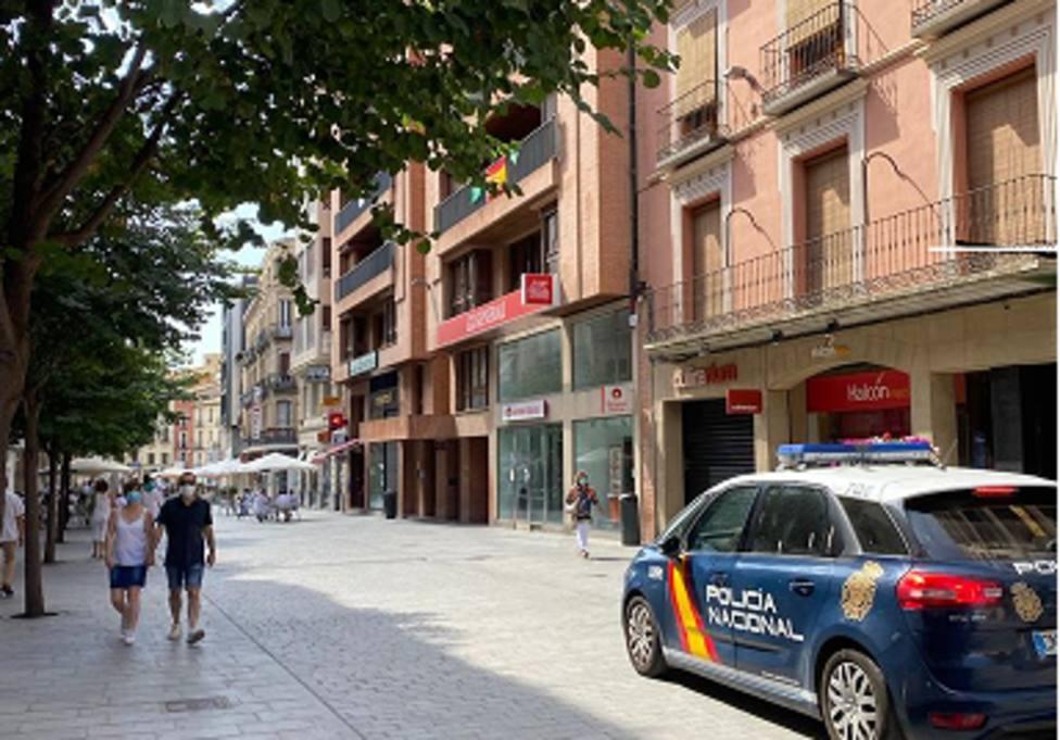 calles semivacias en San Lorenzo