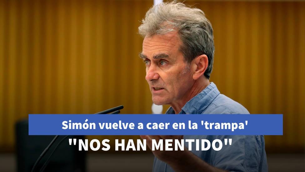 Fernando Simón vuelve a caer en la 'trampa' de la hemeroteca: Nos han mentido desde el principio