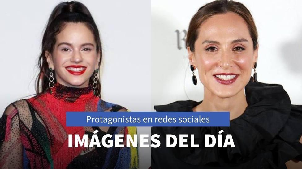Imágenes del día: el nuevo videoclip de Rosalia y el rincón favorito de Tamara Falcó