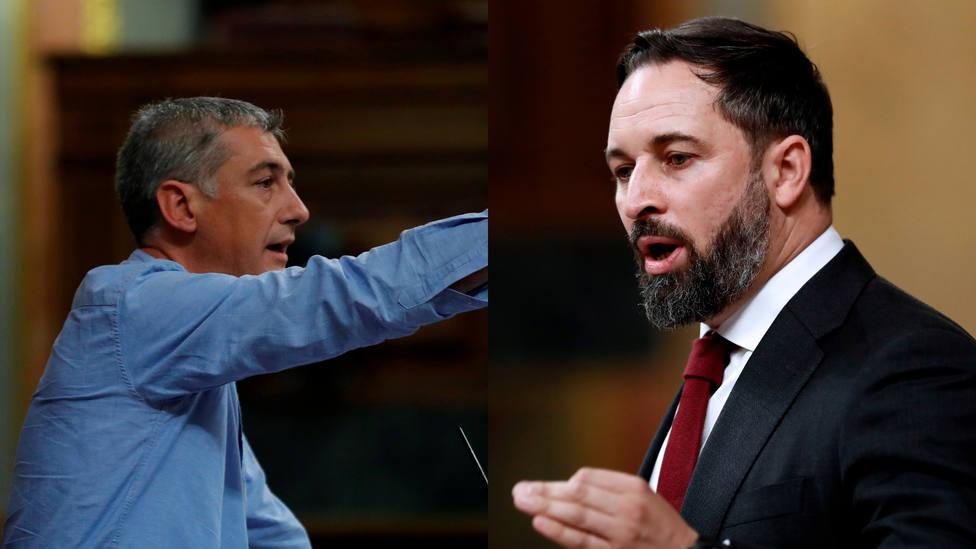 El gesto de un diputado del PP mientras Bildu hablaba y Abascal recordaba a las víctimas de ETA