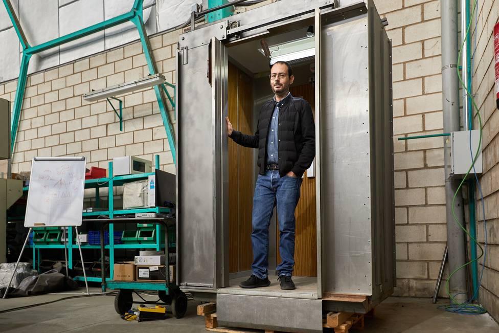 Jose Roig, inventor del ascensor anti-covid-19