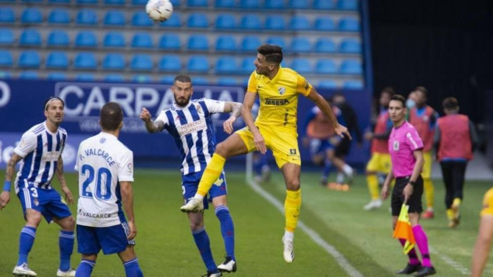 La Ponfe y el Málaga firman tablas; el Leganés sufre con el colista; el Almería, cuarto; empate del líder