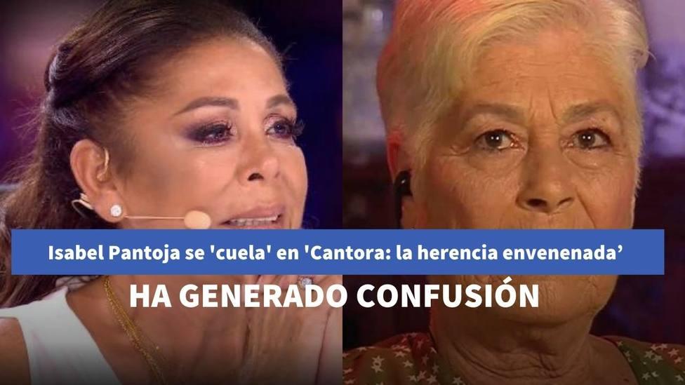 Isabel Pantoja se 'cuela' en el segundo capítulo de 'Cantora: la herencia envenenada'