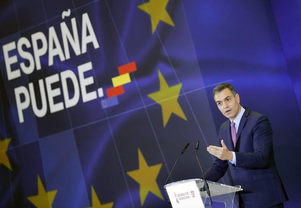 Sánchez presentará un nuevo plan de recuperación en línea con fondos europeos