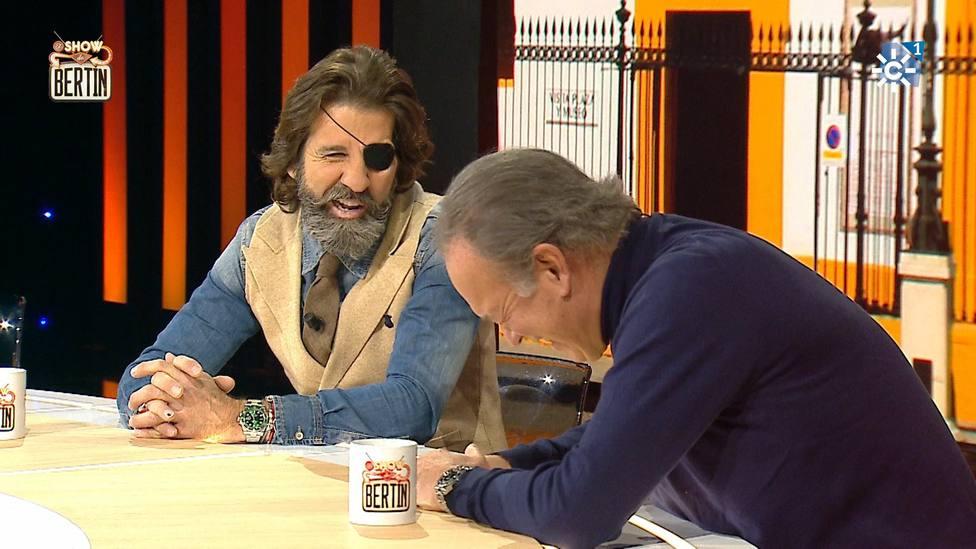 La surrealista anécdota del torero Juan José Padilla con Bertín Osborne: Has dado donde no hay ojo