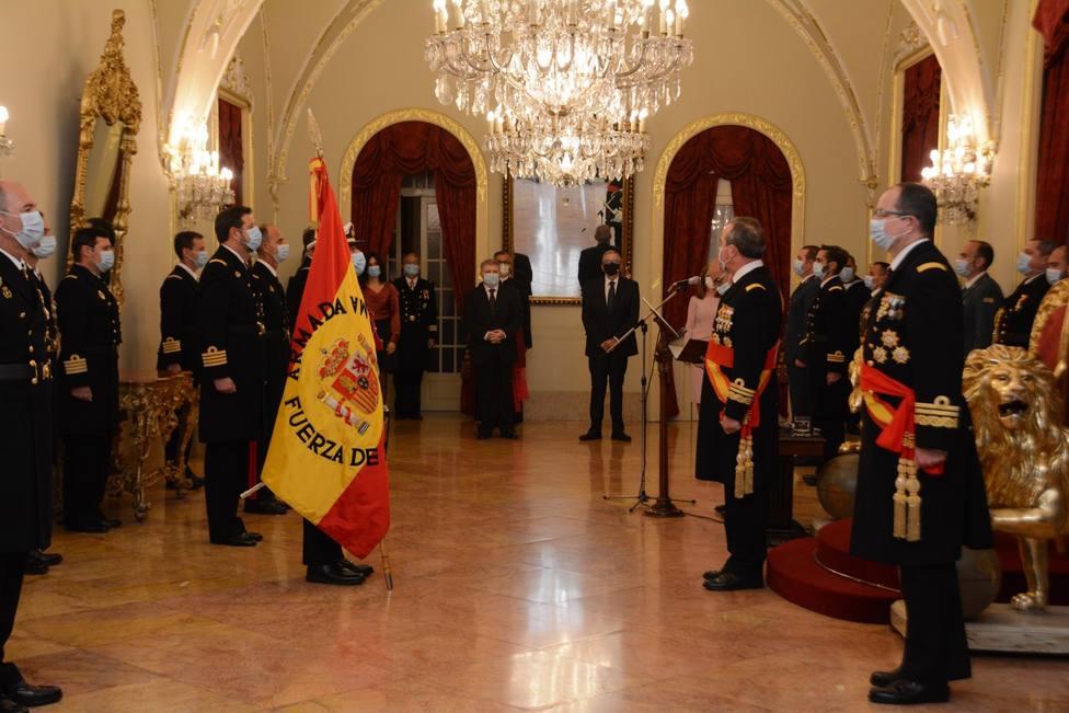 El almirante de Acción Marítima preside la celebración de la Festividad de la Pascua Militar en Cartagena